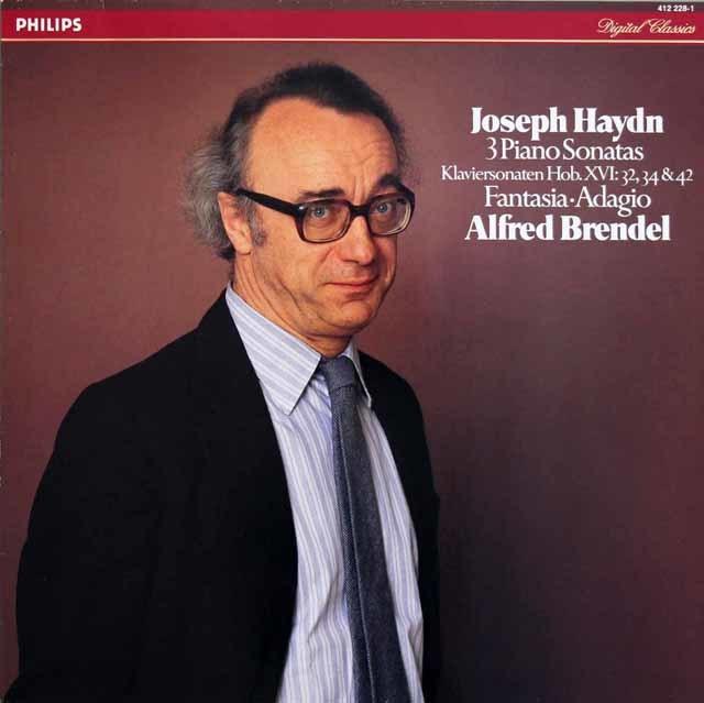 ブレンデルのハイドン/ピアノソナタ第32、42、34番ほか 蘭PHILIPS 3212 LP レコード