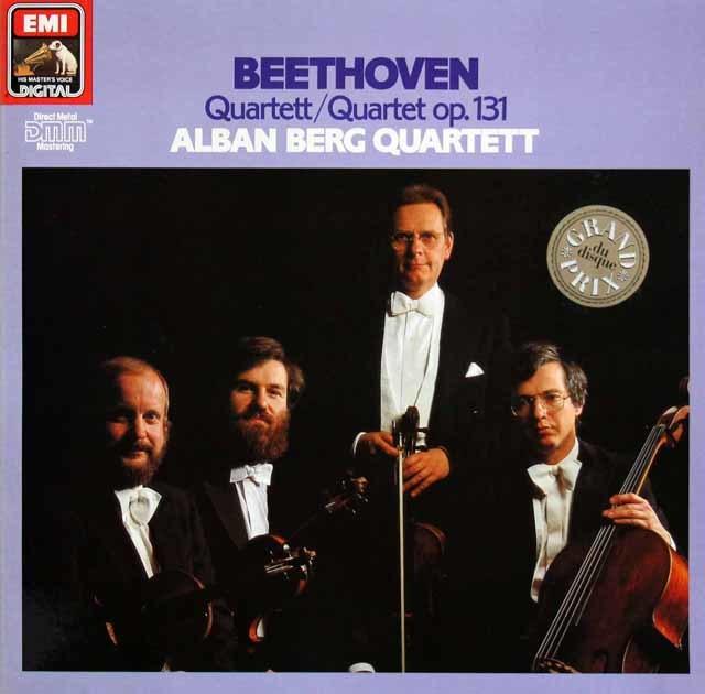 アルバン・ベルク四重奏団のベートーヴェン/弦楽四重奏曲第14番 独EMI 3212 LP レコード