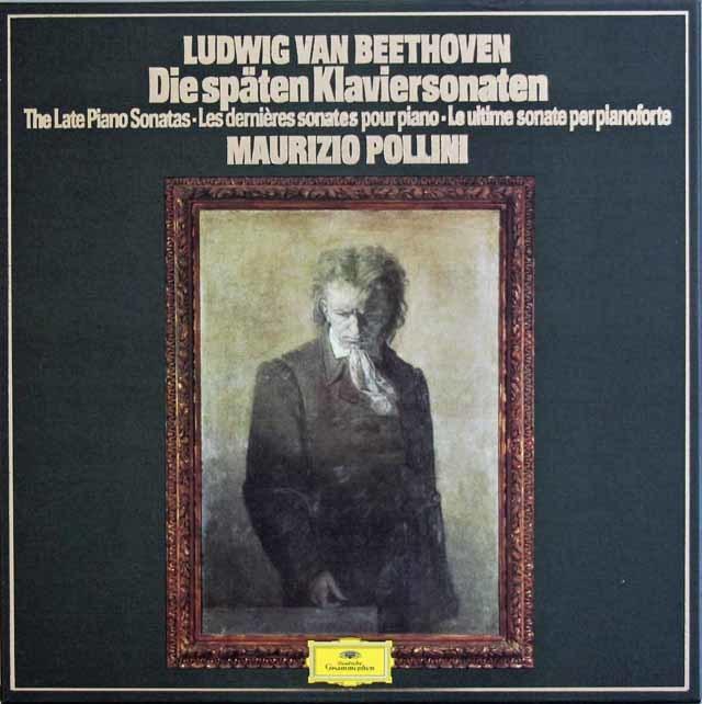 ポリーニのベートーヴェン/後期ピアノソナタ集 独DGG 3212 LP レコード