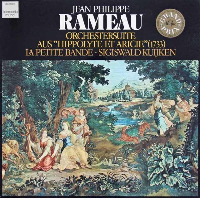 クイケンのラモー/「イポリートとアリシー」からの管弦楽組曲 独HM 3212 LP レコード
