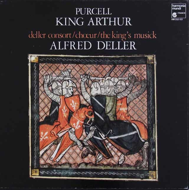 デラーのパーセル/「アーサー王」 仏HM 3212 LP レコード