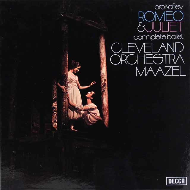 マゼールのプロコフィエフ/「ロメオとジュリエット」  蘭DECCA 3212 LP レコード
