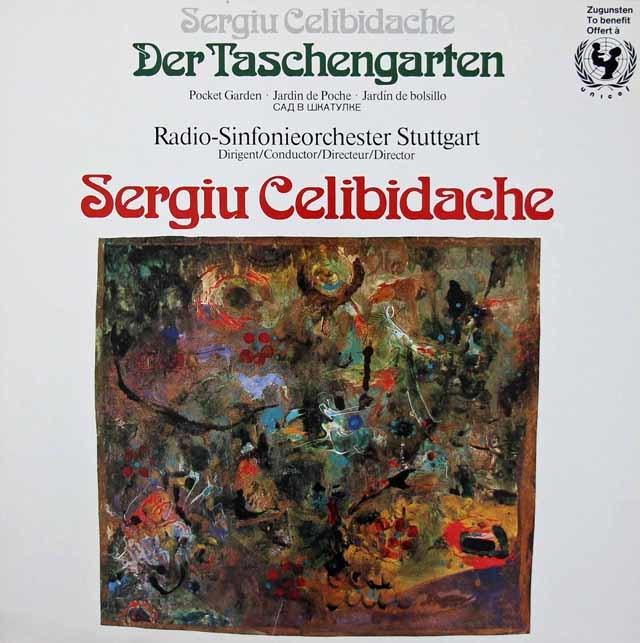 チェリビダッケの自作自演/「秘密の小箱」  独Mediaphon 3213 LP レコード