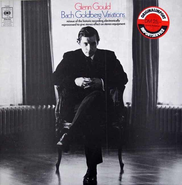 グールドのバッハ/ゴルトベルク変奏曲 英CBS 3213 LP レコード