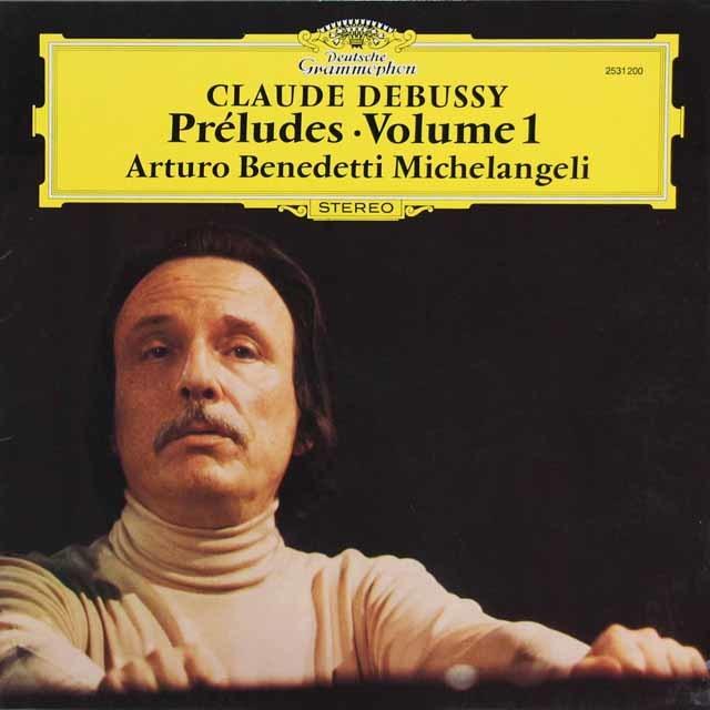 ミケランジェリのドビュッシー/前奏曲集第1&2巻(2枚セット) 独DGG 3213 LP レコード