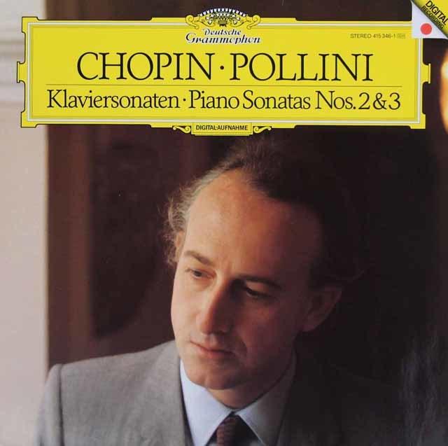 ポリーニのショパン/ピアノソナタ第2番「葬送行進曲付き」&第3番 独DGG 3213 LP レコード