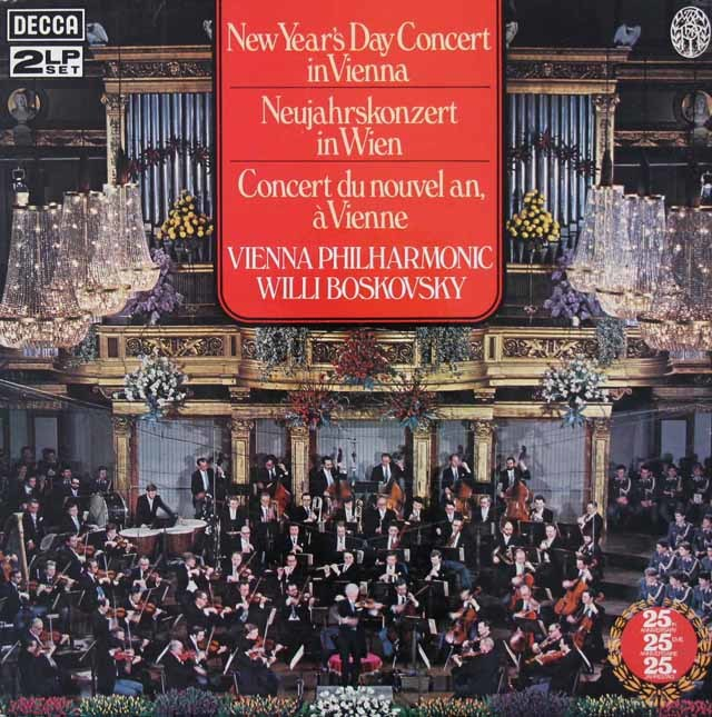【オリジナル盤】ライヴ!ボスコフスキーのニューイヤー・コンサート1979 英DECCA 3213 LP レコード