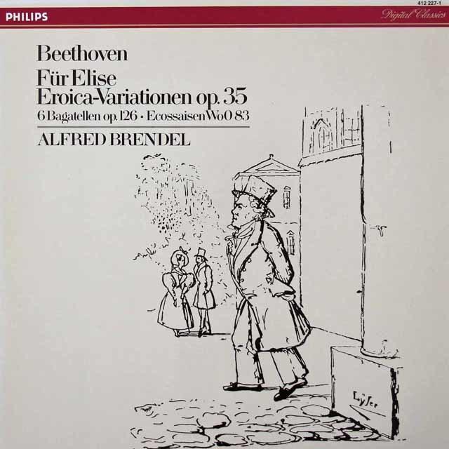 ブレンデルのベートーヴェン/「エリーゼのために」ほか 蘭PHILIPS 3213 LP レコード