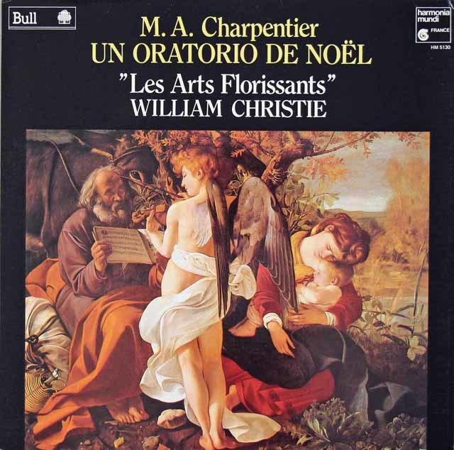 クリスティ&レザール・フロリサンのシャルパンティエ/クリスマスオラトリオ  仏HM  3213 LP レコード