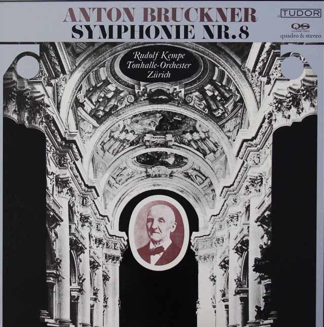 ケンペのブルックナー/交響曲第8番 スイスTudor 3213 LP レコード