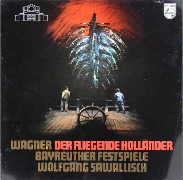 【未開封】サヴァリッシュのワーグナー/「さまよえるオランダ人」全曲 蘭PHILIPS 3213 LP レコード
