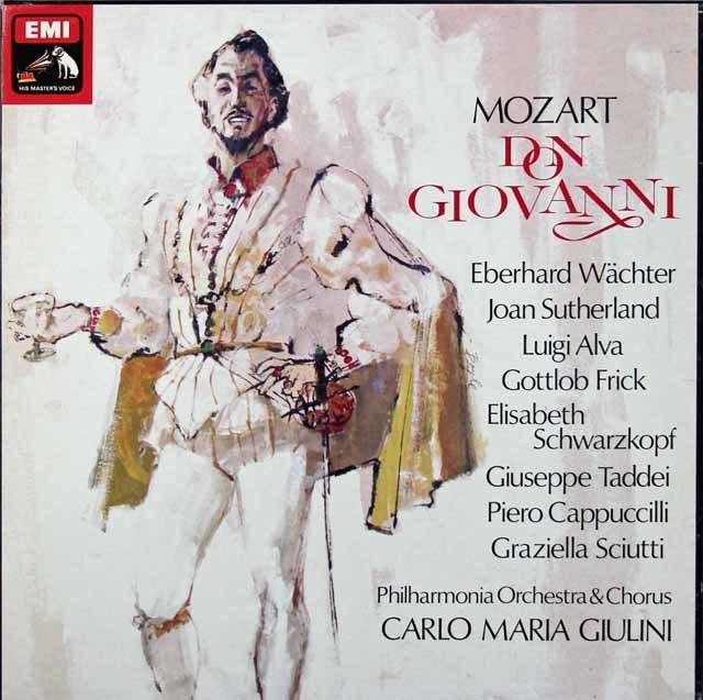 ジュリーニのモーツァルト/「ドン・ジョバンニ」全曲 英EMI 3213 LP レコード