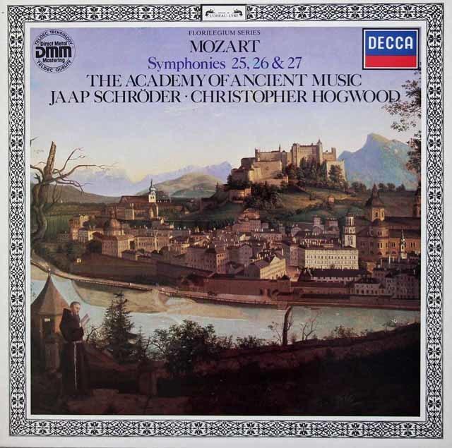 ホグウッドのモーツァルト/交響曲第25、26、27番 独DECCA 3214 LP レコード