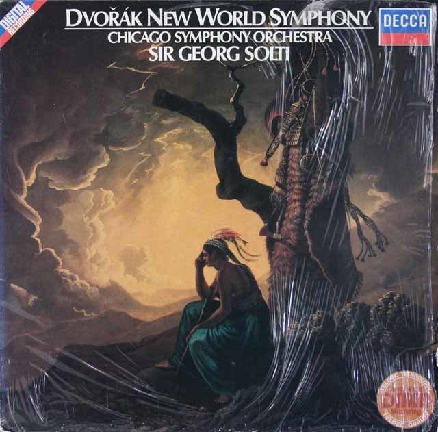 ショルティのドヴォルザーク /交響曲第9番「新世界より」  独DECCA 3214 LP レコード