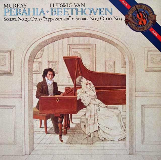 ペライアのベートーヴェン/「熱情」ほか 蘭CBS 3214 LP レコード