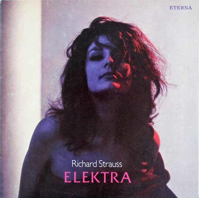 ベームのR.シュトラウス/「エレクトラ」  独ETERNA 3214 LP レコード