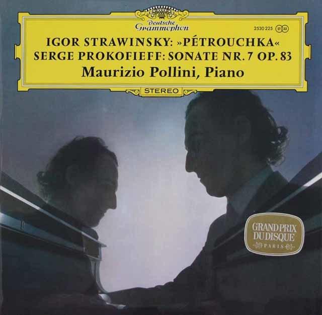 ポリーニのストラヴィンスキー/「ペトルーシュカ」ほか  独DGG 3214 LP レコード