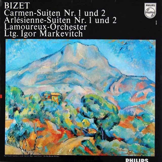 マルケヴィチのビゼー/組曲「カルメン」「アルルの女」  蘭PHILIPS 3214 LP レコード