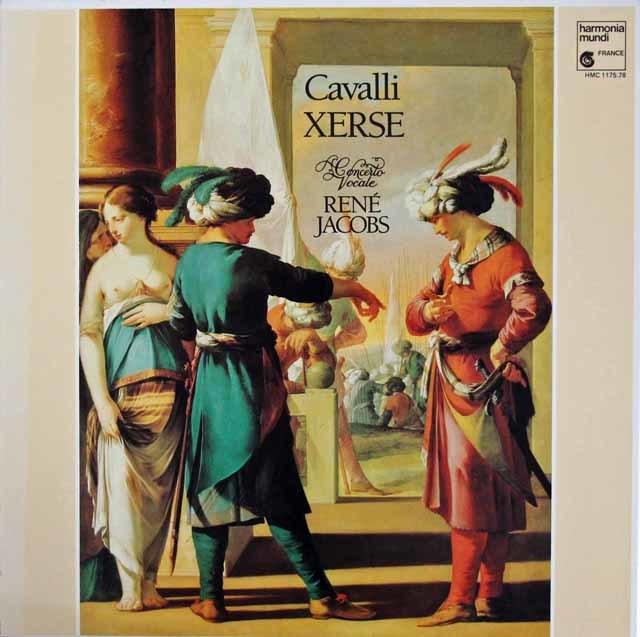 ヤーコプスのカヴァッリ/歌劇「セルセ」 仏HM  3214