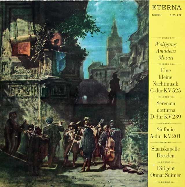 スウィトナーのモーツァルト/「アイネ・クライネ・ナハトムジーク」ほか 独ETERNA 3215 LP レコード