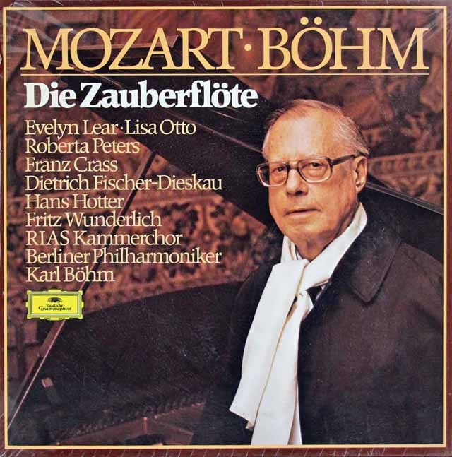 【未開封】ベームのモーツァルト/「魔笛」全曲  独DGG 3216 LP レコード