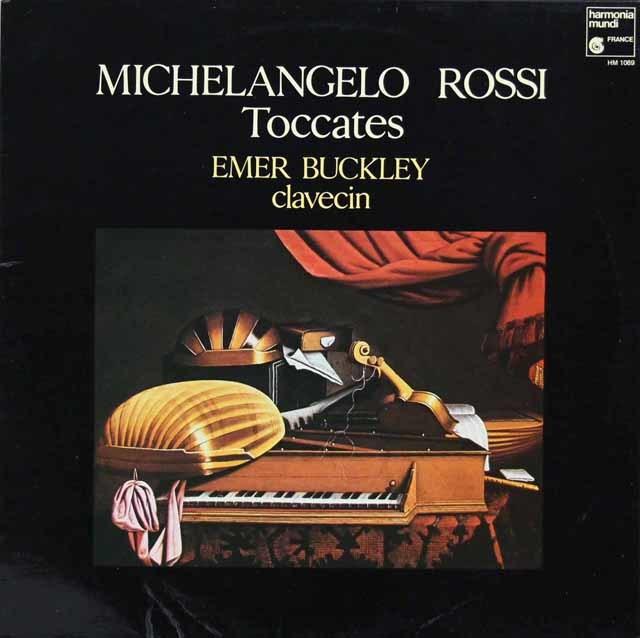 バックリーのロッシ/チェンバロとオルガンののためのトッカータとコレンテ集 仏HM 3216 LP レコード