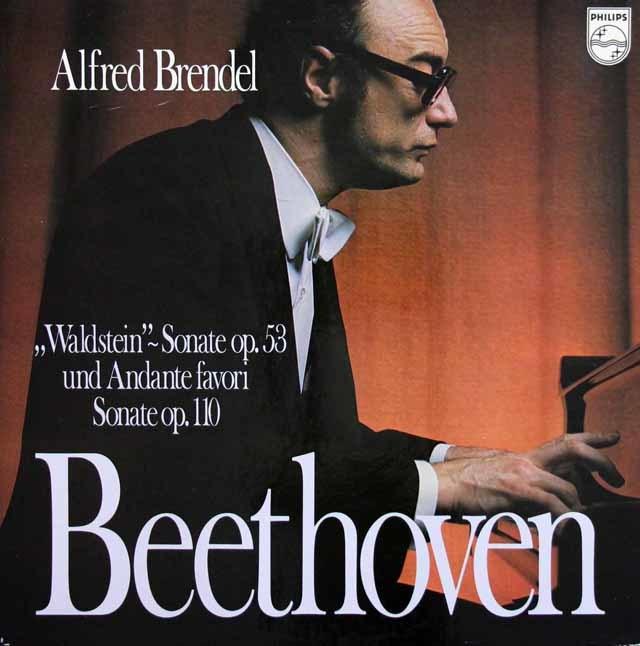 ブレンデルのベートーヴェン/ピアノソナタ 第21番「ワルトシュタイン」ほか 蘭PHILIPS 3216 LP レコード