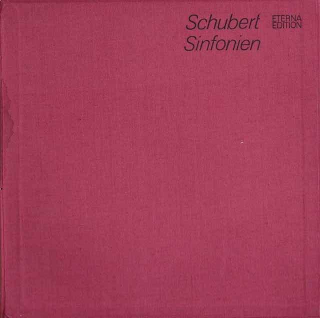 サヴァリッシュのシューベルト/交響曲全集&ミサ曲第5,6番 独ETERNA 3216 LP レコード