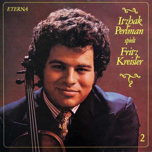 パールマンのクライスラー/ヴァイオリン名曲集 vol.2 独Eterna 3216 LP レコード