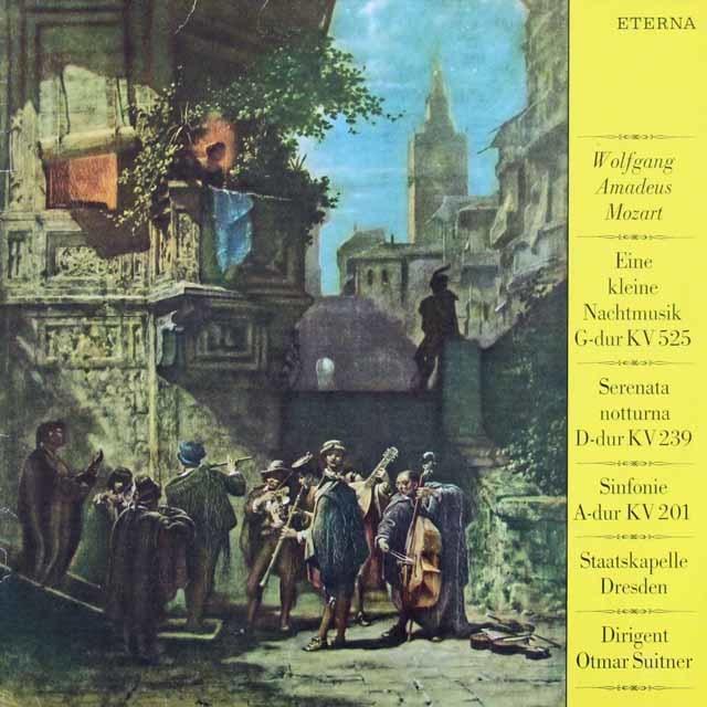 スウィトナーのモーツァルト/「アイネ・クライネ・ナハトムジーク」ほか 独ETERNA 3216 LP レコード