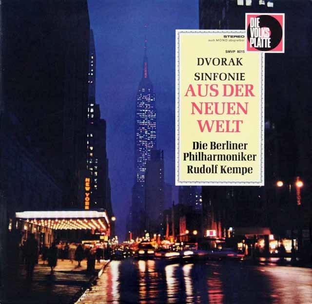 ケンペのドヴォルザーク/交響曲第9番「新世界より」 独DVP(EMI) 3216 LP レコード