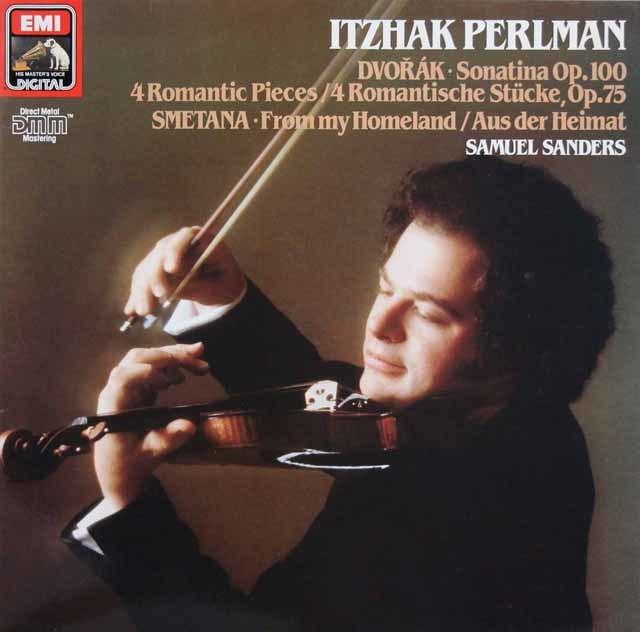 パールマンのドヴォルザーク/ヴァイオリンソナタほか 独EMI 3217 LP レコード