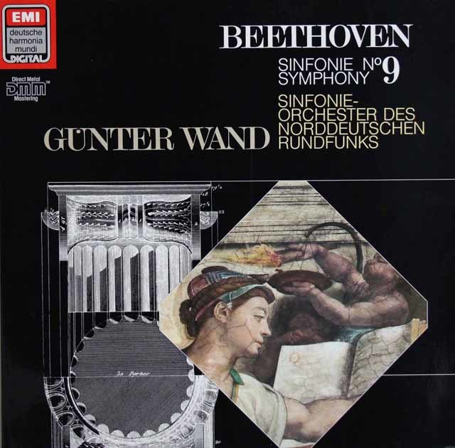 ヴァントのベートーヴェン/交響曲第9番 独EMI 3217 LP レコード