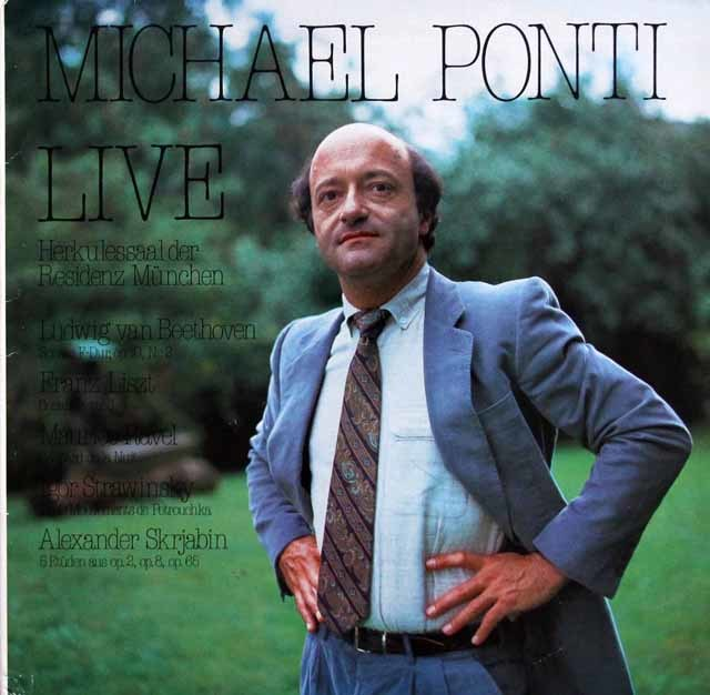 ポンティのミュンヘン・ヘラクレスザール・ライヴ 独・自主制作レーベル 3217 LP レコード
