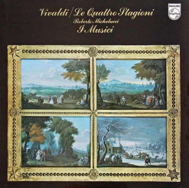 ミケルッチ&イ・ムジチ合奏団のヴィヴァルディ/「四季」 蘭PHILIPS 3218 LP レコード