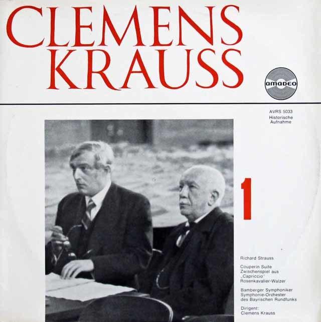 【2枚セット】 クラウスのR.シュトラウス/作品集 オーストリアamadeo  3218 LP レコード