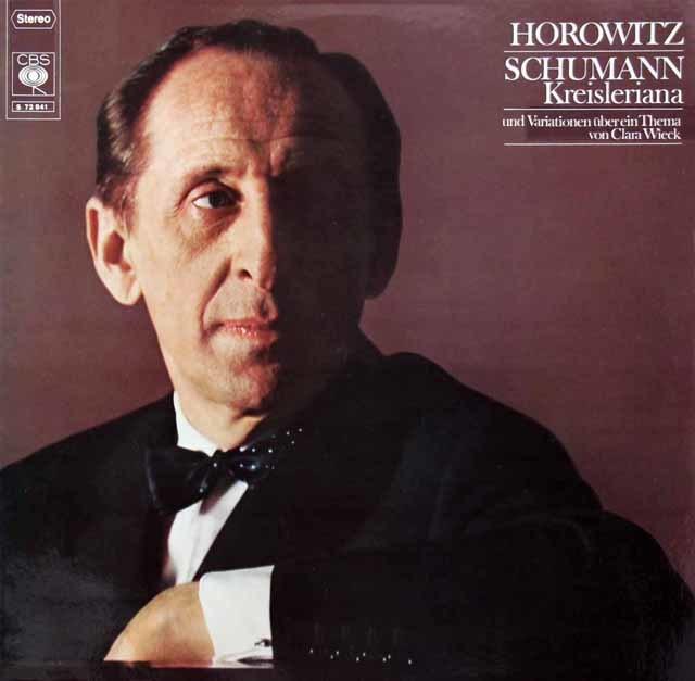 ホロヴィッツのシューマン/「クライスレリアーナ」ほか 独CBS 3219 LP レコード