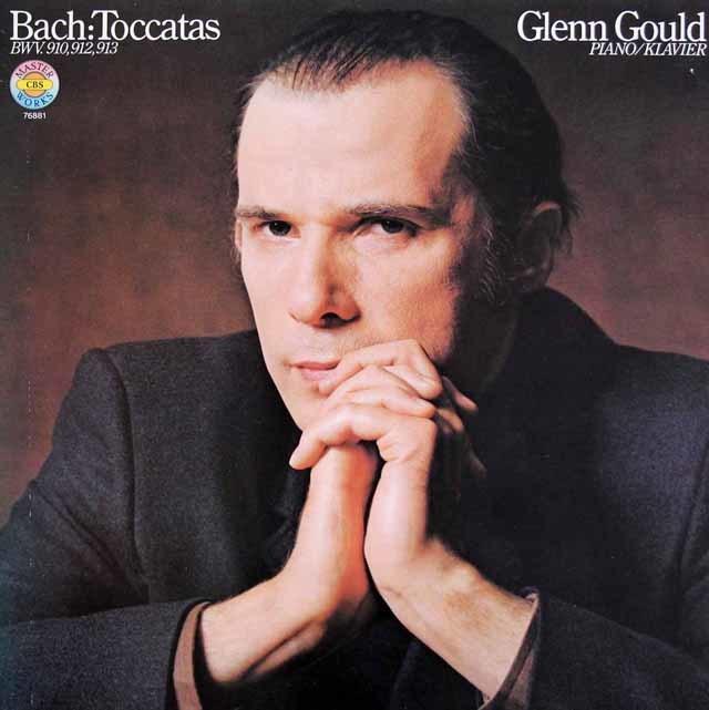 グールドのバッハ/トッカータ集 独CBS 3219 LP レコード