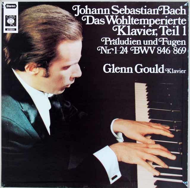グールドのバッハ/平均律クラヴィーア曲集第1巻(全曲) 独CBS 3219 LP レコード
