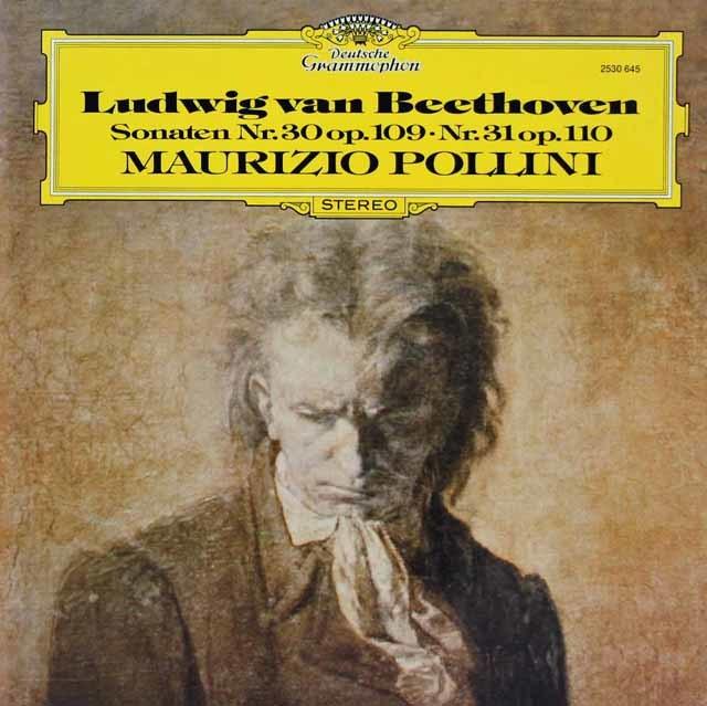 ポリーニのベートーヴェン/ピアノソナタ第30&31番 独DGG 3219 LP レコード