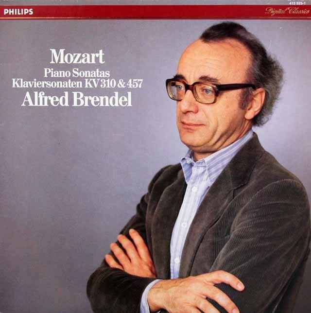 ブレンデルのモーツァルト/ピアノソナタ第8&14番 蘭PHILIPS 3219 LP レコード
