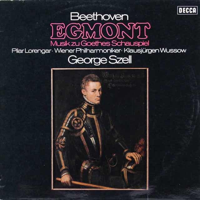 セルのベートーヴェン/劇音楽「エグモント」 独DECCA 3219 LP レコード