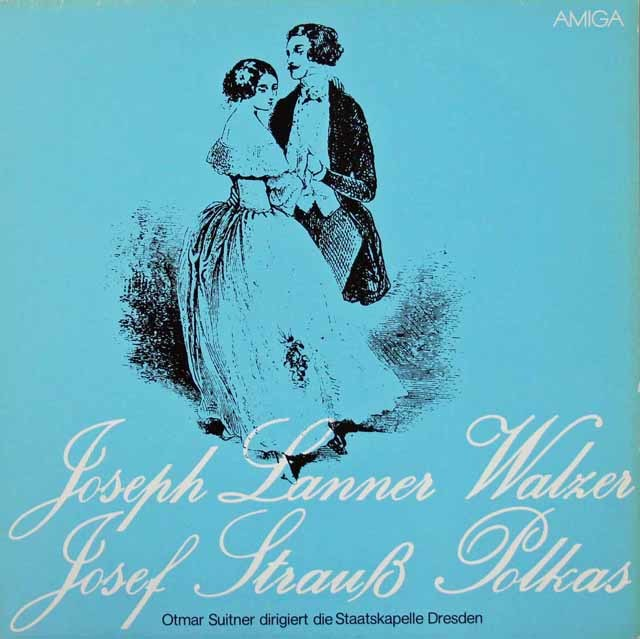 スウィトナーのランナー&J.シュトラウス/ワルツ&ポルカ集 独AMIGA 3219 LP レコード