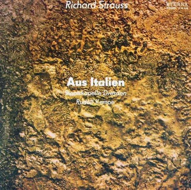 ケンペのR.シュトラウス/交響的幻想曲「イタリアより」 独ETERNA 3219 LP レコード