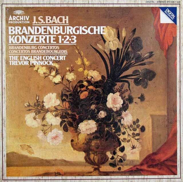 【ばら2枚組】 ピノックのバッハ/ブランデンブルク協奏曲(全6曲) 独ARCHIV 3220 LP レコード