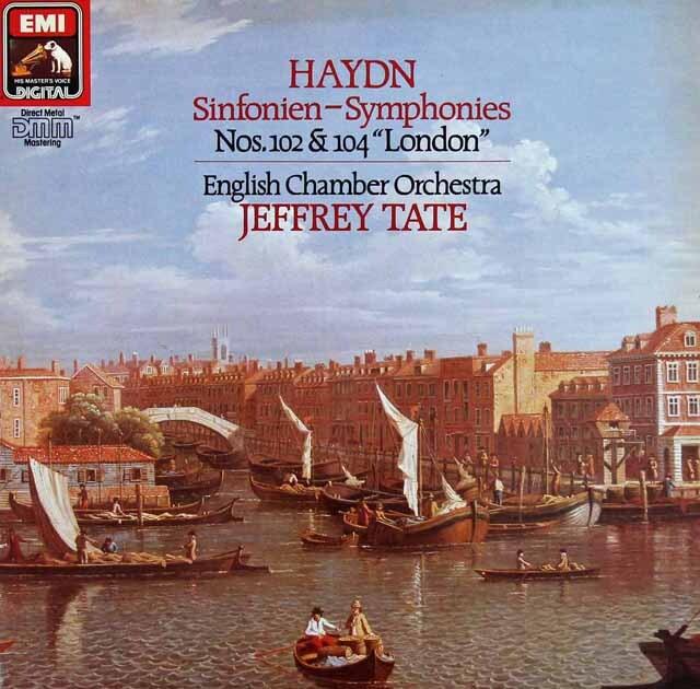 テイトのハイドン/交響曲第102番&104番「ロンドン」 独EMI 3220