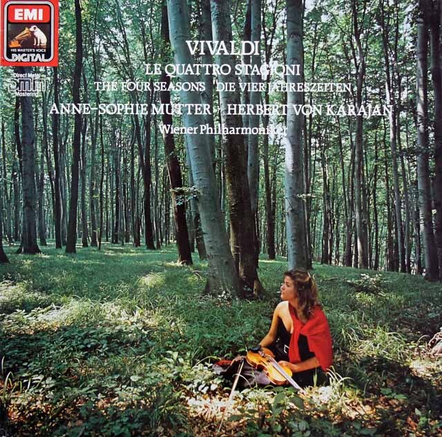 ムター&カラヤンのヴィヴァルディ/「四季」 独EMI 3220 LP レコード