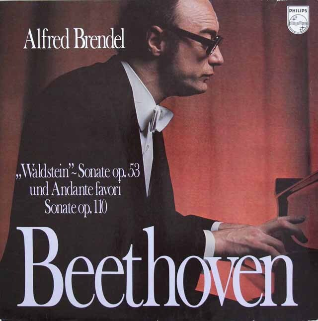 ブレンデルのベートーヴェン/ピアノソナタ 第21番「ワルトシュタイン」ほか 蘭PHILIPS 3220 LP レコード