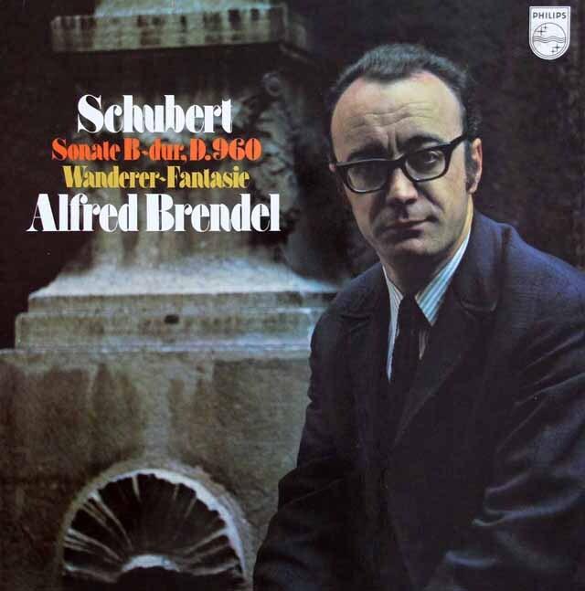 ブレンデルのシューベルト/ピアノソナタ第21番ほか 蘭PHILIPS 3220 LP レコード