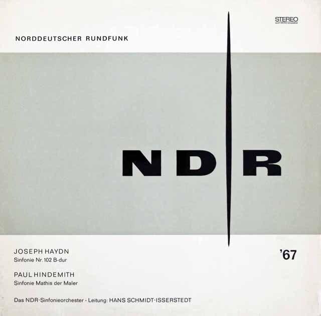 イッセルシュテットのハイドン/交響曲第102番ほか 独NDR 3220 LP レコード